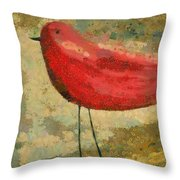 The Bird - K03b Throw Pillow