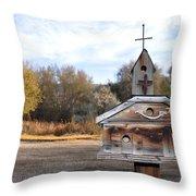 The Birdhouse Kingdom - American Kestrel Throw Pillow