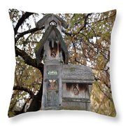 The Birdhouse Kingdom - Black-headed Grosbeak Throw Pillow