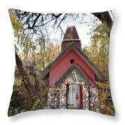 The Birdhouse Kingdom - The Cliff Swallow Throw Pillow