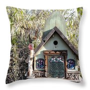 The Birdhouse Kingdom - The Western Tanager Throw Pillow