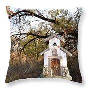 The Birdhouse Kingdom - Wilson's Warbler Throw Pillow