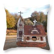 The Birdhouse Kingdom - The Barn Swallow Throw Pillow