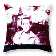 The Birds Revisited Throw Pillow