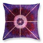 The Birth Of A New Star Throw Pillow