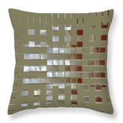 The Birth Of Squares No 1 Throw Pillow