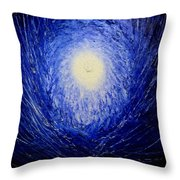The Birth Of Universe Throw Pillow
