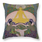 The Birth Of Venus Throw Pillow
