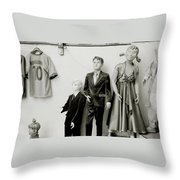 The Bizarre Life Throw Pillow