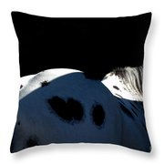 The Black And The Light Throw Pillow