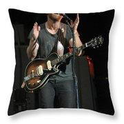 The Black Keys - Dan Auerbach Throw Pillow