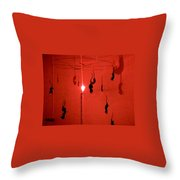 The Black Plague? Throw Pillow