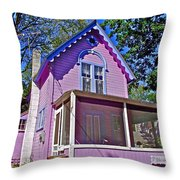 The Blessing In Asbury Grove In South Hamilton-massachusetts Throw Pillow