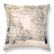 The Blizzard Throw Pillow