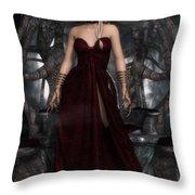 The Blood Queen Throw Pillow