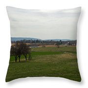The Bloody Fields Of Antietam 2 Throw Pillow