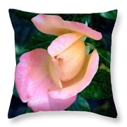 The Blooming Throw Pillow