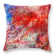 The Blue Nile Throw Pillow