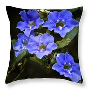 The Blues Throw Pillow