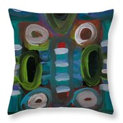 The Boardroom Throw Pillow