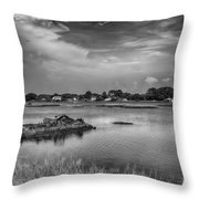 The Boardwalk Trail Throw Pillow