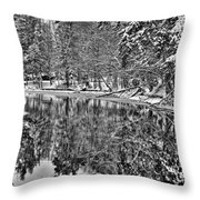 The Boathouse In Old Forge Throw Pillow