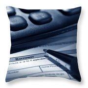 The Borrower  Throw Pillow