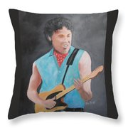 The Boss Throw Pillow by Rich Fotia