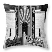The Boulder Theatre Throw Pillow