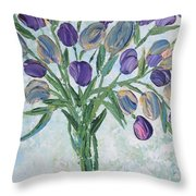 The Bouquet I Throw Pillow