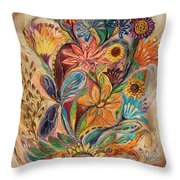 The Bouquet Of Life Throw Pillow