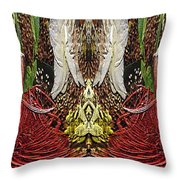 The Bouquet Unleashed 11 Throw Pillow