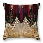 The Bouquet Unleashed 17 Throw Pillow