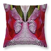 The Bouquet Unleashed 26 Throw Pillow