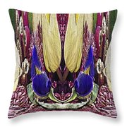 The Bouquet Unleashed 35 Throw Pillow