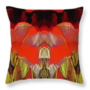 The Bouquet Unleashed 4 Throw Pillow by Tim Allen