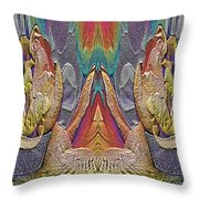 The Bouquet Unleashed 41 Throw Pillow