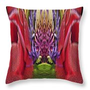 The Bouquet Unleashed 42 Throw Pillow