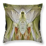 The Bouquet Unleashed 5 Throw Pillow by Tim Allen
