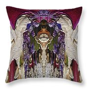 The Bouquet Unleashed 6 Throw Pillow by Tim Allen