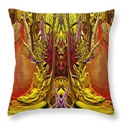 The Bouquet Unleashed 73 Throw Pillow