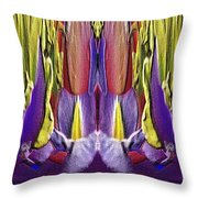 The Bouquet Unleashed 82 Throw Pillow