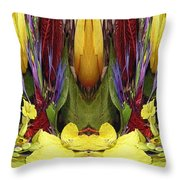 The Bouquet Unleashed 83 Throw Pillow