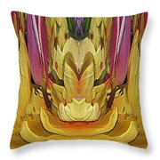 The Bouquet Unleashed 84 Throw Pillow
