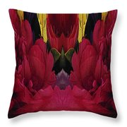 The Bouquet Unleashed 91 Throw Pillow