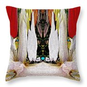 The Bouquet Unleashed 92 Throw Pillow