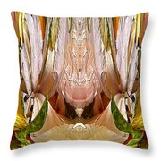 The Bouquet Unleashed 95 Throw Pillow