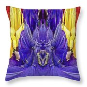 The Bouquet Unleashed 98 Throw Pillow