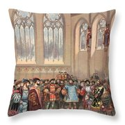 The Bourgogne Herald, Sent By Charles Throw Pillow