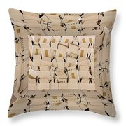 The Box Room Throw Pillow